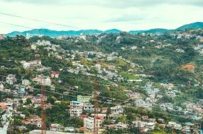 Mountain side...