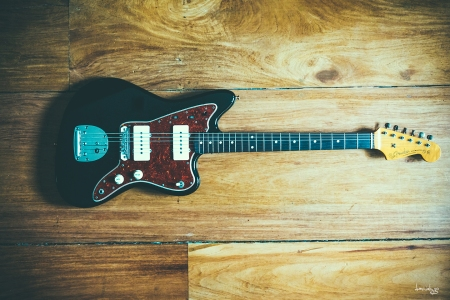 Fender Japan Jazzmaster Reissue with Mastery bridge.