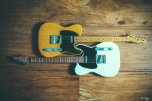 Fender Japan Exclusive 1952 Telecaster Reissue and a Suhr Classic T Antique