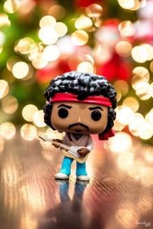 Jimi Hendrix is wishing you a most joyous CHRISTmas :)
