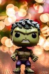 Hulk is wishing you a most smashing CHRISTmas :)