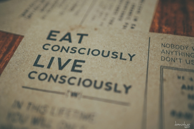 Eat Consciously, Live Consciously
